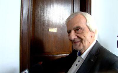 Ryszard Terlecki nie odpowiadał na pytania o Mariana Banasia