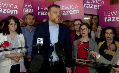 Zandberg: PiS nie ucieknie od odpowiedzialności za nominacje Banasia