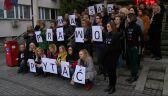 Protesty po zarzutach dyscyplinarnych dla sędziów z Krakowa