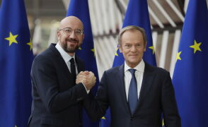 Donald Tusk żegna sięz Radą Europejską