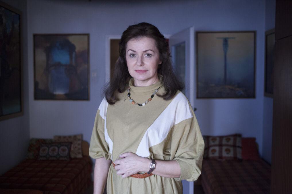 Aleksandra Konieczna jako Zofia Beksińska