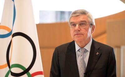 Thomas Bach o przełożeniu terminu igrzysk olimpijskich w Tokio