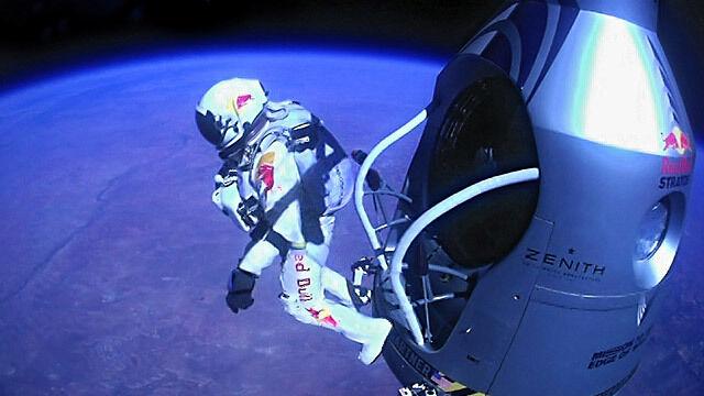 Rekordowy skok Baumgartnera