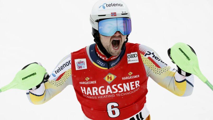 Norweg namieszał w slalomie. Niespodzianka w alpejskim Pucharze Świata
