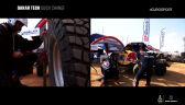 Rajd Dakar 2021 - ekspresowa wymiana opony