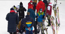 Problemy zdrowotne Tandrevold podczas sprintu w Oberhofie
