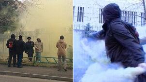 """Tusk: zdarzenie przed ambasadą w Moskwie """"wygląda na zaaranżowane"""""""