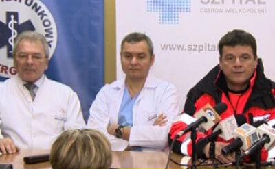 Lekarze: Stan 2-letniej dziewczynki jest średniociężki, ale stabilny