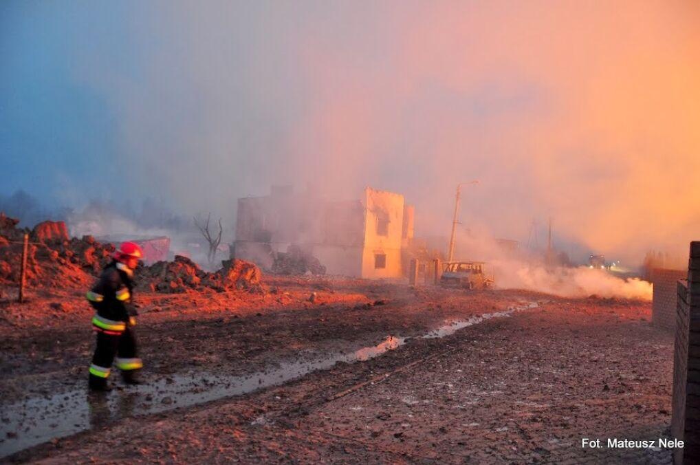 Janów Przygodzki po pożarze wygląda jak po wojnie