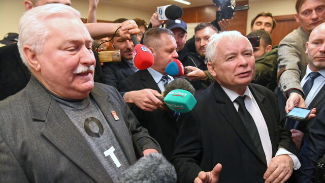 Sąd: Lech Wałęsa ma przeprosić Jarosława Kaczyńskiego.