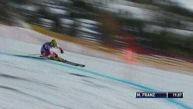 Franz najlepszy w zjeździe w Lake Louise