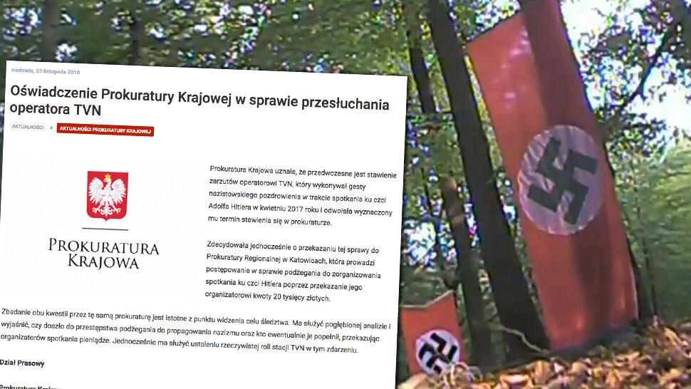 Oświadczenie Prokuratury Krajowej  w sprawie przesłuchania operatora TVN