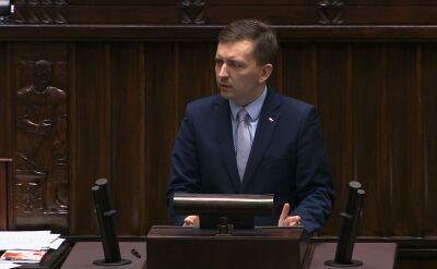 Łukasz Schreiber odpowiada posłom opozycji