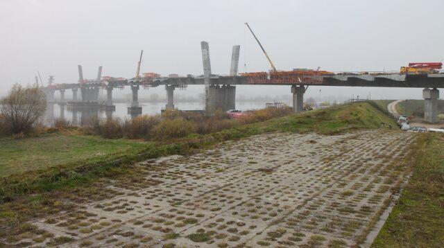 Budowa mostu na Wiśle