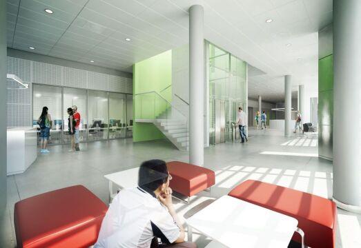 Budynek będzie miał cztery kondygnacje i jedną podziemną