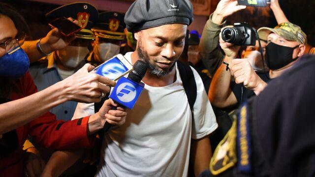 Ronaldinho bliski opuszczenia aresztu domowego. Musi spełnić pewne warunki