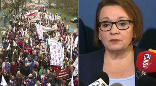 W poniedziałek protest nauczycieli. Minister reaguje: to akcja zaplanowana wspólnie z KOD