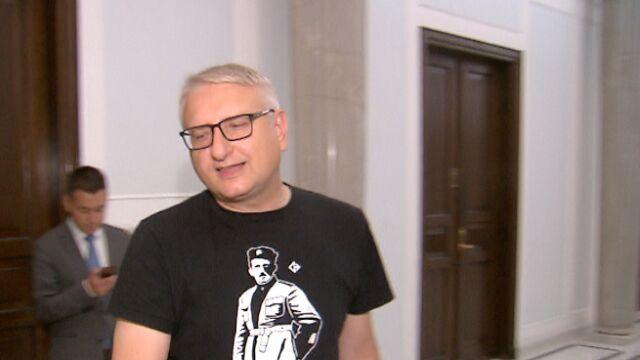 Poseł Stanisław Pięta w sejmie