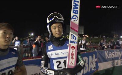 Ryoyu Kobayashi wygrał piątkowy konkurs LGP w Hakubie