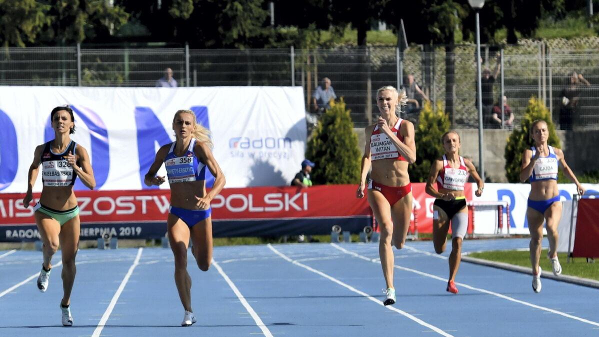 Szybkie i sensacyjne 400 metrów. Całe podium dla Aniołków