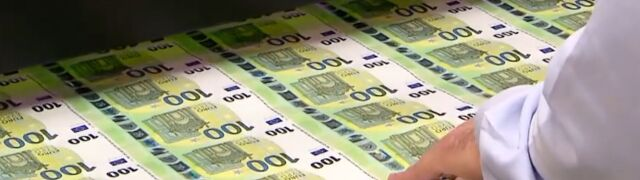 Jak powstają banknoty?  Zobacz drukarnię euro od środka