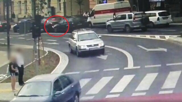 """Wjechał w tył samochodu i uciekał przed policją. """"Nie chciał iść siedzieć na wakacje"""""""