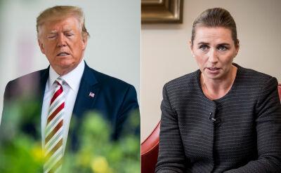 Prezydent USA Donald Trump odwołał spotkanie z premier Danii, Mette Frederiksen