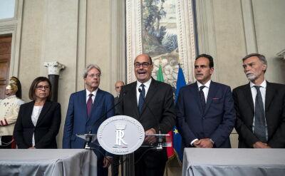 Rozmowy w sprawie nowej koalicji rządowej we Włoszech