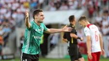 Legia wyszarpała triumf w Łodzi