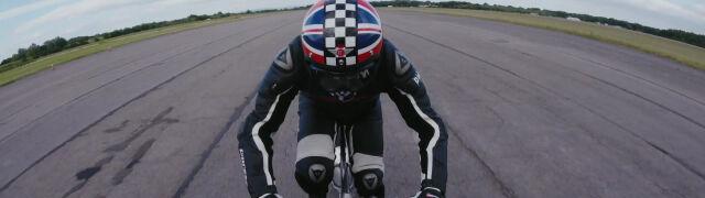Pędził na rowerze ponad 280 km/h. Już planuje przełamanie kolejnej bariery