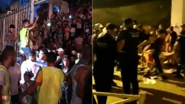 Atak paniki przed koncertem, nie żyje pięć osób. Minister podała się do dymisji