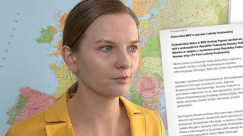 Szefowa Fundacji Otwarty Dialog dostała niemiecką wizę. Polski MSZ: to nieuzasadnione