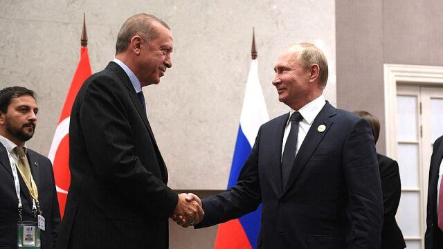 Prezydenci Rosji i Turcji spotkają się w Soczi