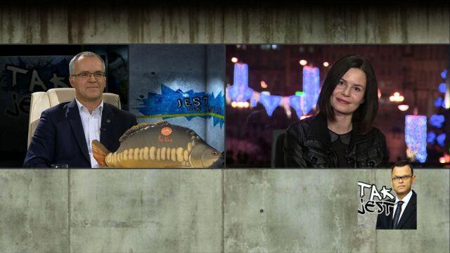 Magda Kumorek i Zbigniew Szczepański w Tak jest