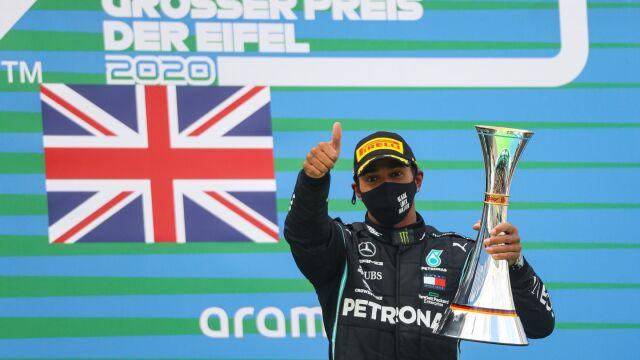 Hamilton najszybszy w Niemczech. Brytyjczyk doścignął Schumachera