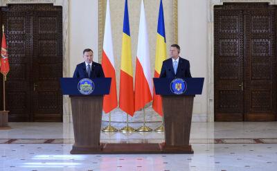 Duda i Iohannis: wzmocniać wschodnią flankę NATO, aż po stałe bazy Sojuszu