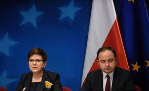 Beata Szydło po szczycie w Brukseli