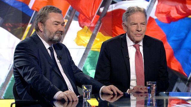 "Dariusz Rosati i Karol Karski w ""Faktach po Faktach"""