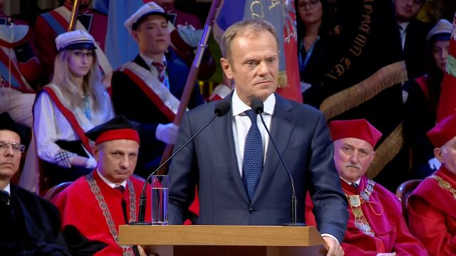 Donald Tusk: uniwersytety do rdzeń Europy
