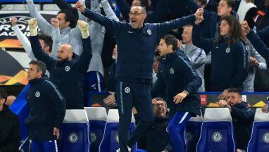 Menedżer Chelsea nie patrzył na ostatnie karne.
