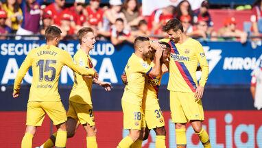 FC Barcelona ma problem. Tylko remis w Pampelunie