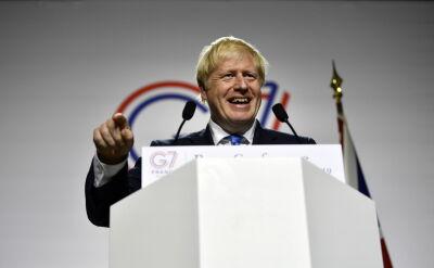 Pytanie o słowa Trumpa o brexicie wywołało zamieszanie na konferencji Johnsona