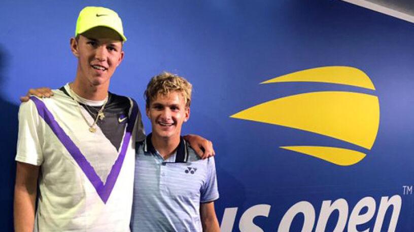 Razem mają 31 lat, przeszli do historii US Open