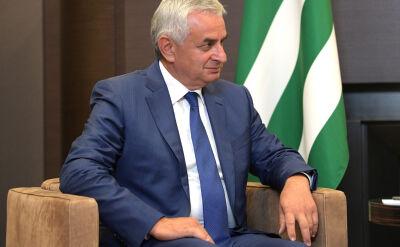Raul Chadżymba jest prezydentem Abchazji od 2014 roku