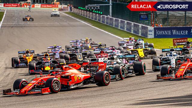 Wielki dzień Leclerca. Ferrari wygrało GP Belgii
