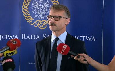 Mazur: podpisałem dokument odwołujący sędziego Szmydta z funkcji dyrektora wydziału prawnego w Biurze KRS