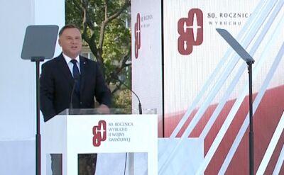 Prezydent Duda: to było wycinanie z polskiej tkanki narodowej najlepszych jej synów