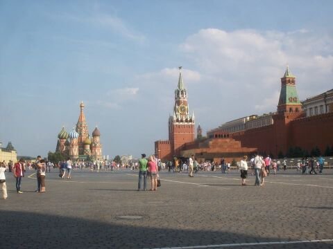Plac Czerwony, Kreml