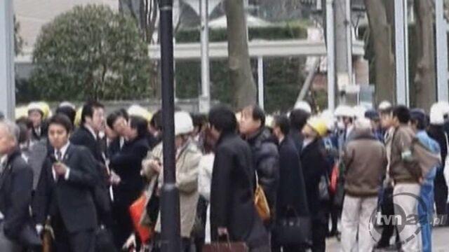 Tragiczne w skutkach trzęsienie ziemi w Japonii
