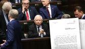 Prezes PiS: immunitet nie może stawiać nikogo ponad prawem